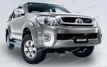 Защита картера Toyota Hilux all 2015-XX, сталь 2мм 1845